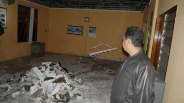 Diterjang Angin Kencang, Kantor BMKG Bogor Rusak