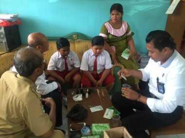 Mirip Pesta Sabu, 22 Bocah SD Dites Urine oleh Petugas BNNK Kobar