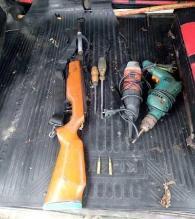 Polisi Sita Senpi, Bahan Peladak dan Amunisi dalam Operasi di Nabire Papua