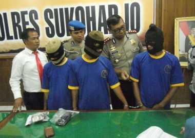 Asyik Pesta Sabu Kiriman dari Lapas Klaten, Tiga Pengguna Dibekuk Polisi