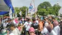Bazar Murah Perindo di HUT Ke-111 Kota Pekalongan, Seribu Paket Sembako Ludes Diburu Warga