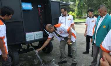 Keren, Mahasiswa Unsyiah Ciptakan Pengolah Air Tenaga Surya