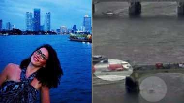 Korban Teror London yang Nekat Terjun ke Sungai Dipertemukan dengan Keluarga