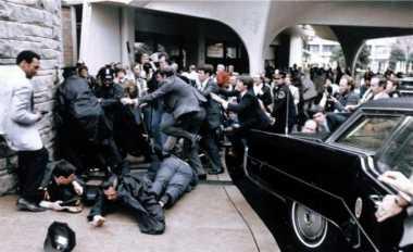 HISTORIPEDIA: Ketika Presiden AS Ronald Reagan Diberondong Timah Panas