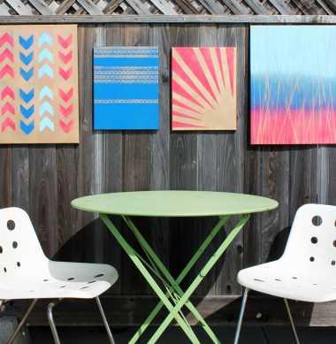 DIY Wall Art Cantik untuk Rumah Rustic