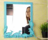 Unik, Mainan Bekas Jangan Dibuang! Ini Bisa Membuat Cermin Usang di Rumah Terlihat Cantik