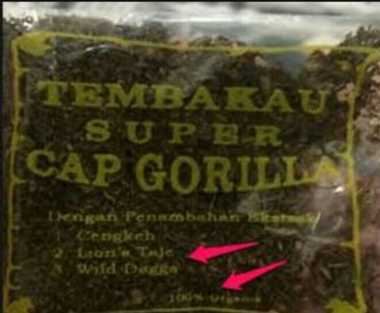 Ngeri! Tembakau Gorila Dijual Lewat Instagram, Keuntungan hingga Rp200 Juta