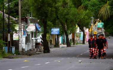 Ini Sanksi bagi Pelanggar Catur Brata Nyepi di Bali