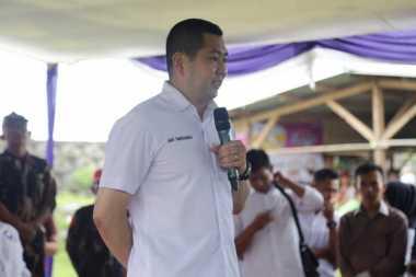 Hary Tanoe Berdialog dengan Warga Kampung Nelayan Cipatuguran Pelabuhan Ratu