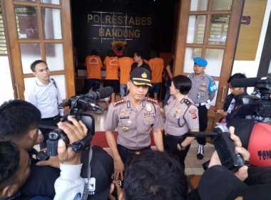 Dor! Lima Pelaku Curas Minimarket Lintas Provinsi Ditembak Polisi