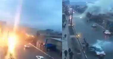 VIDEO: Astaga, Mobil di Maroko Terekam Disambar Petir