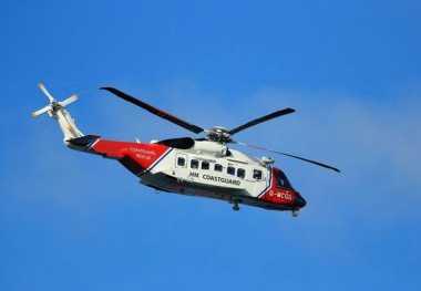 Helikopter Berisi Lima Orang Hilang di Laut Irlandia