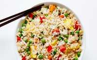 RESEP PILIHAN: Siapkan Menu Sarapan Besok Pagi, Masak Nasi Goreng Kacang Polong