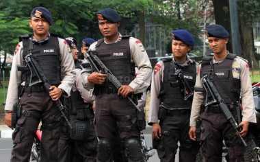 Polisi Siapkan Pasukan Bersenjata Lengkap Kawal Aksi 313