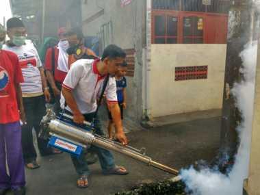 Kampanyekan Anies-Sandi, Perindo Kembali Gelar Fogging di Cengkareng