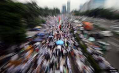 Wah, Pengamanan Aksi 313 Libatkan Jawara