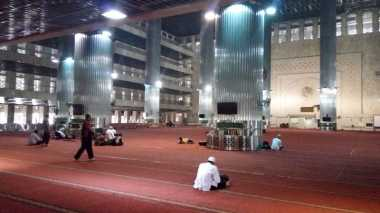 Pantauan Masjid Istiqlal, Jumlah Massa Aksi 313 Masih Sedikit