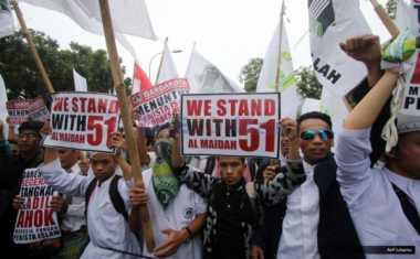 Massa Aksi 313 Harus Berada di Luar Radius 500 Meter Istana Negara