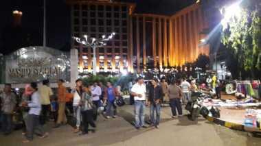 Hingga Malam Ini, Masjid Istiqlal Terpantau Sangat Kondusif