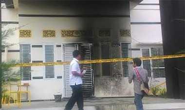 Rumah Komisioner KPU Tebo Jadi Sasaran Molotov OTK