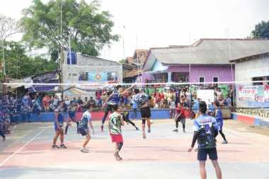HT Cup Bangun Prestasi Olahraga Voli di Purwakarta