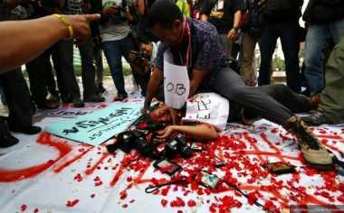 Perusahaan Pers Jangan Mau Berdamai dengan Pelaku Kekerasan Terhadap Jurnalis