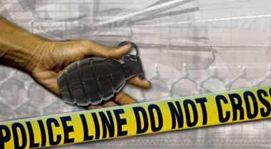 Astaga! Polisi Temukan Granat Aktif saat Menggerebek Lokasi Perjudian