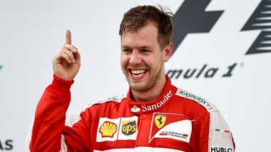 Sport Tweets: Juarai GP Australia, Vettel:The Finger Is Back!