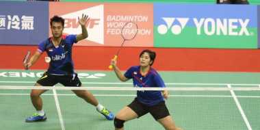 Hadapi Ganda Campuran China di Semifinal, Hafiz/Shela: Kami Akan Bermain Lebih Tenang