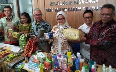 BPOM Sita Makanan dan Obat Ilegal Senilai Rp735 Juta di Bandung