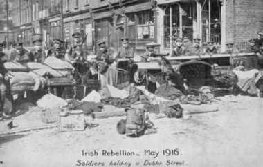 HISTORIPEDIA: Pemberontakan 'Paskah' Pasukan Irlandia Melawan Kekuasaan Inggris