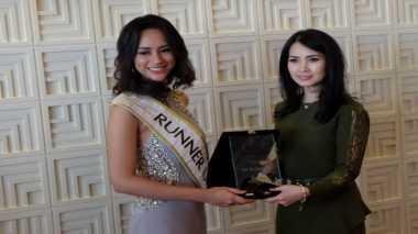 MISS INDONESIA 2017: Astrini Putri Merasa Bangga Mendapat Gelar 1st Runner Up Miss Indonesia 2017