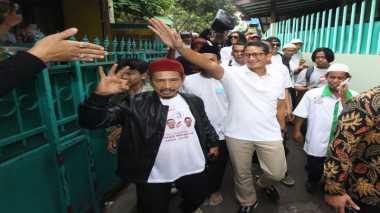 TOP NEWS (2): Sandiaga Akan Sedekahkan Gaji Wakil Gubernurnya kepada Dhuafa