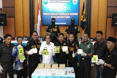 Mantap! Penyelundupan Sabu 4 Kg asal Malaysia Berhasil Digagalkan