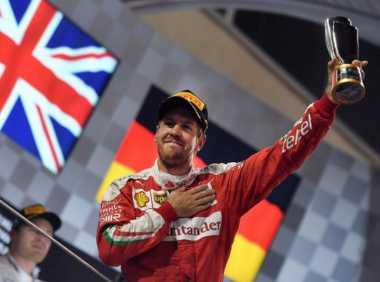 Optimis di GP Rusia, Vettel Tak Takut dengan Cuaca Dingin