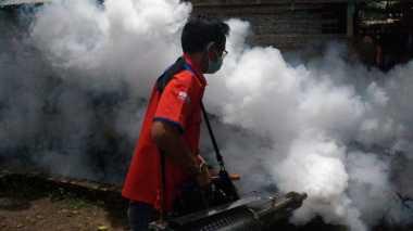 Partai Perindo Beri Fogging Gratis, Warga Pekalongan Jadi Riang Gembira