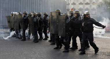 Demonstrasi Warnai Berakhirnya Pilpres Prancis Putaran Pertama