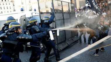 Buntut Demonstrasi Pilpres Prancis, Tiga Orang Ditahan