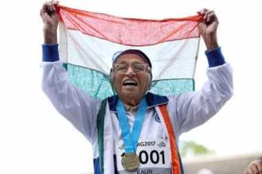 VIDEO: Luar Biasa! Nenek 101 Tahun Memenangkan Lomba Lari 100 Meter