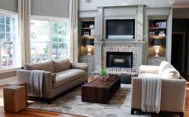 Dekorasi Ruangan Besar, Gunakan Tempat Duduk Bulat Lebih Cocok Lho