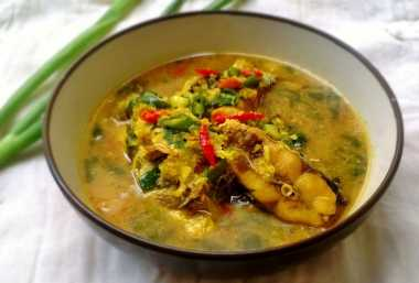 RESEP NENEK: Makan Malam Nikmat dengan Ikan Kuah Kuning Cabai Hijau