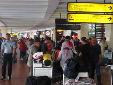 Libur Panjang Usai, Bandara Soetta Padat Penumpang