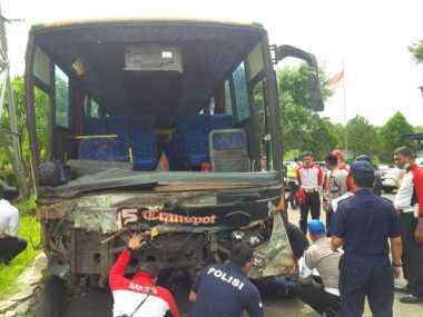 Ngeri! Begini Analisis Polisi soal Kondisi Bus Maut di Puncak