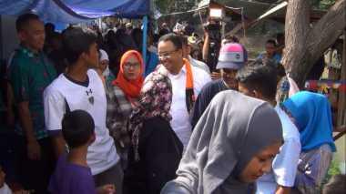 Matangkan Rencana Penataan, Anies Baswedan Hadiri Festival Kampung di Pademangan Jakut