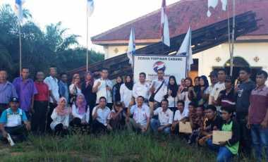 DPC Perindo Muratara Konsolidasi ke DPRt Kecamatan Nibung