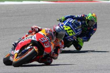 Hampir Terlibat Insiden dengan Rossi, Marquez Beri Wejangan ke Zarco