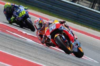Valentino Rossi Kena Penalti, Pedrosa Tetap Tak Sanggup Kejar sang Pesaing