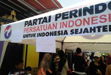 Bantu Ekonomi Rakyat Kecil, Partai Perindo Gelar Bazar Murah di Batang