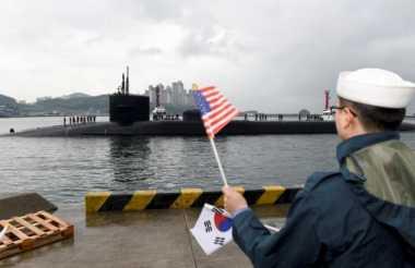 Semenanjung Korea Memanas, Kapal Selam Nuklir AS Berlabuh di Korsel
