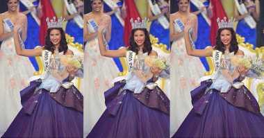MISS INDONESIA 2017: Resmi Jadi Miss Indonesia 2017, Achintya Nilsen Haturkan Terima Kasih pada Orang Terdekat